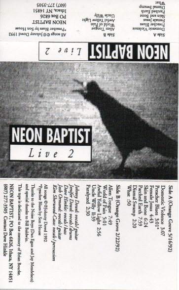 Covers,Lyrics_NeonBaptist/Live2