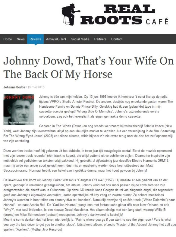 Review,PressRelease_Real Roots Cafe,JohannaBodde,thatsyourwife