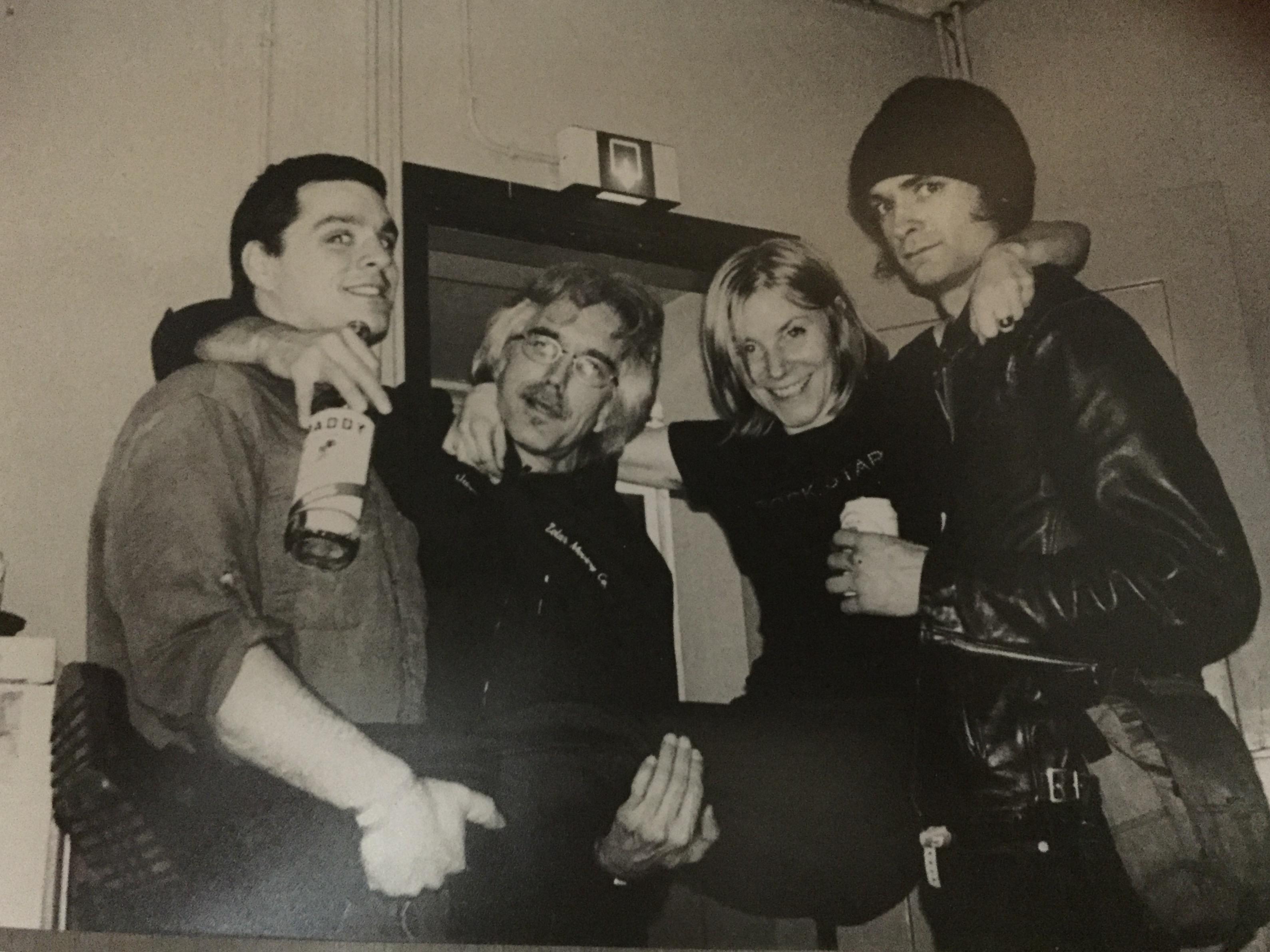 Justin, John, Kim and Brian