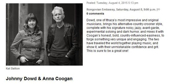 Review,PressRelease_Rongo,Anna,20150808,Ithaca Times