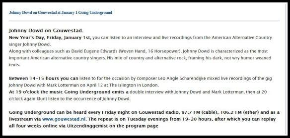 Radio_Going Underground (trans)