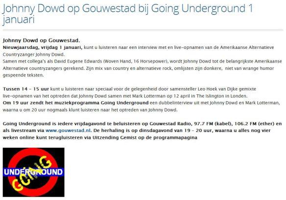 Radio_Going Underground