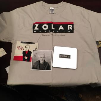 Thank you John Dowd for the great music and the fine swag!!